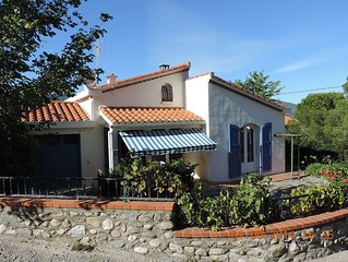 Detached Holiday Villa with swimming pool, South of France, 3 Bedrooms, sleeps 6