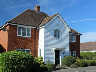 Large modern family home in the charming Kent village of Charing.
