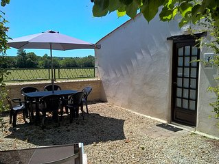 Cozy appartment with amazing view over the Charente river!