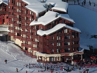 Comfortable apartments in a residence at the foot of the slopes in Val Thorens.