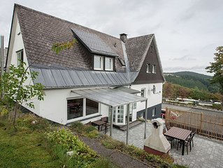 """Holiday home in a quiet location directly above the """"Postwiese"""" skiin"""