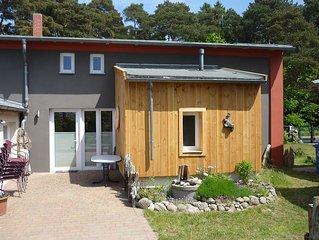 Landhaushälfte mit Terrasse (max. 6 Personen) - Landhaus nahe Ostseebad Kühlungs