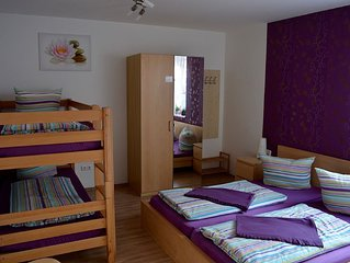 Vierbettzimmer - Gästehaus Luna