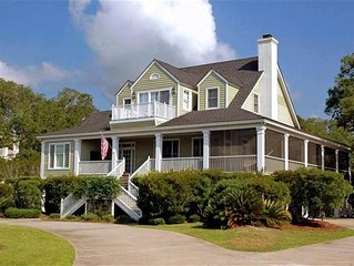 Spacious Lowcountry Home on Lagoon that overlooks?a?Hobcaw?Nature Preserve