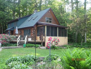 Lakeside Log Home Retreat
