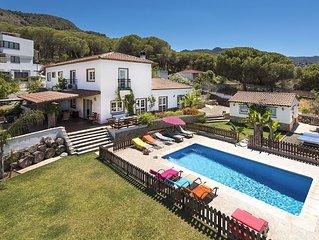 Fantastica Villa Andaluza con piscina y jardin a solo 20 minutos de la playa