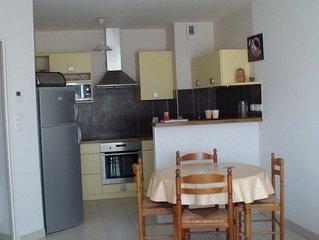 Sables D olonne Appartement 45m2 dans petite residence avec garage proche mer