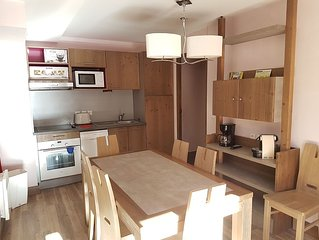 APPARTEMENT 7 COUCHAGES DANS RESIDENCE 4* a RISOUL