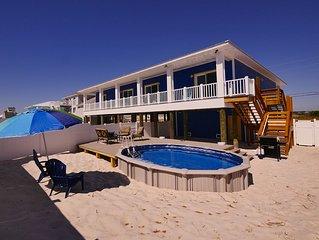 Heated Private Pool, Spa, Tiki Bar, Newest Luxury Beach Home, Gulf&Sound Views