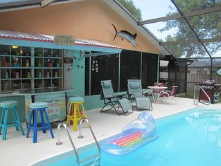 *Special Free Summer Nights** Heated Private Pool, Fully Enclosed Screened Lanai