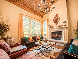 LUXURY HOME IN VAIL WITH MOUNTAIN VIEWS ON A FREE SHUTTLE ROUTE