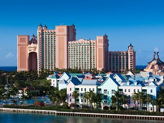 Atlantis Bahamas - Sleeps 4 or option to upgrade for 8 or 10 - See Description