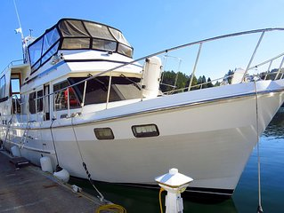 42'  Ponderosa  Located in the Historic Gig Harbor Marina & Boatyard