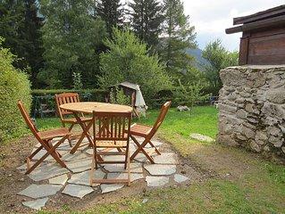 Confortable et acceuilant appartement en chalet dans la Vallee de Chamonix