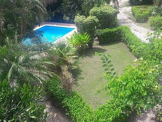 A Charming Two Bedroom House In Papagayo Village, Playa Hermosa