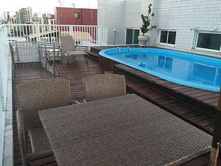 Apartment in Manaira to 80Mt sea / 30mt Mag Shopping