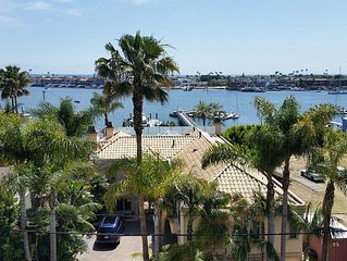 Home Overlooking Newport Harbor, Corona del Mar