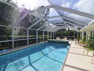 North Beach Beauty - Three Bedroom Pool Home Short Walk From Disney And Beach.