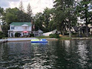 Fabulous Waterfront House on Lake Winnisquam
