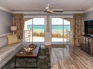 Dune Villas 4A: 1 BR / 1 BA Beachfront Condo in Seagrove Beach