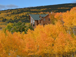 Beautiful Log Home, 4 Master Suites!,Private fishing, Ski at Breck or Monarch!