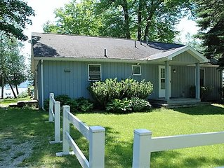 Beautiful Big Platte Lake Shared Waterfront Rental Home