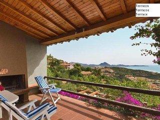All inclusive Casa  vista  mare, terrazza panoramica giardino