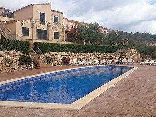 Preciosa casa en Cala Romantica, con piscina y jardin, 6 personas: OFERTA SEPT!