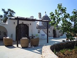 Idyllic Trullo with pool, Nestled Amongst Private Ancient Olive Groves, Close To
