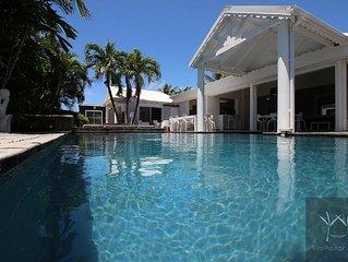 Villa d'exception vue Mer accès Plage  Incluant un service hotelier chaque matin
