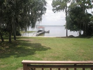 Beautiful, Completely Secluded, 3 BR/2 BA Lake June Home!