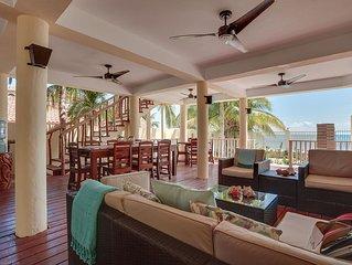 Private Beachfront Villa with Pool