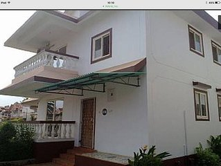 Goa, Benaulim, large two storey villa within beautiful complex next to beach