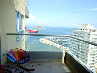 Sweeping Views From New, Spacious, Ocean View Apartment
