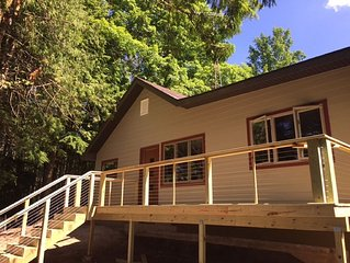 Fully Remodeled Waterfront Cabin