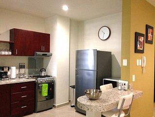Ground floor NEW Condo..2 small block to the beach 1 block to Golden Zone in MZT