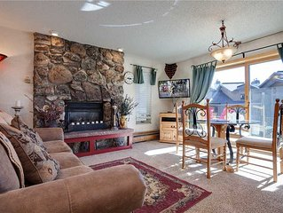 Ski right in! Lovely, convenient ski-in condo with walk-out patio, easy hot tub