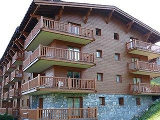 ARC 1800 - T3 6p dans résidence de standing / piscine / ski aux pieds