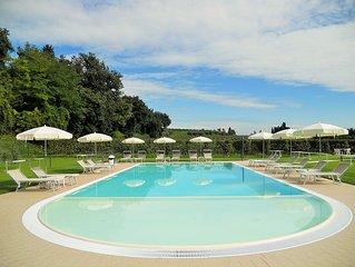 Appartamento Ai Prati, indipendente e con fantastica piscina tra uliveti e viti