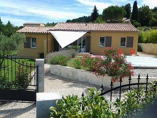 Villa ' Le Clos du Maquignon ' Clim,wifi,piscine privee,8 pers