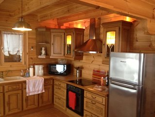 SUPERB CHALET MORILLON GRAND MASSIF / SAMOENS 10 PEOPLE INSIDE WOOD