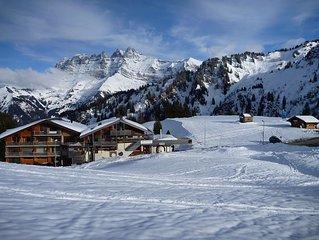 Appartement duplexe Les Portes du Soleil 9 couchages ski aux pieds