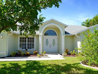 3 Bed 2 Bath Pool Home W/ Western Exposure In Cape Coral - Amazing Location