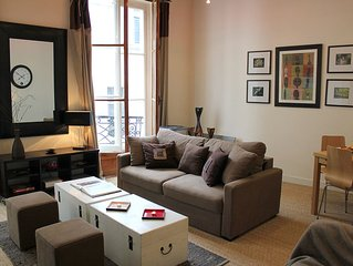 Ideal Marais Location-Beautiful 1BR with a/C_4 Guests_540 Sqf