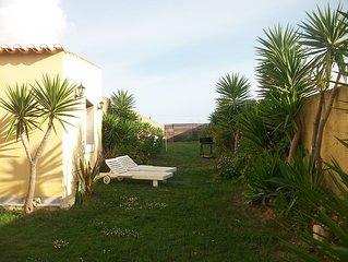 Chalet com Jardim e estac, 900 m da Praia do Guincho, Vista Mar e Serra de Sintr