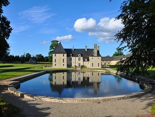 Luxurious 17th Century manor in a 280 hectares private property