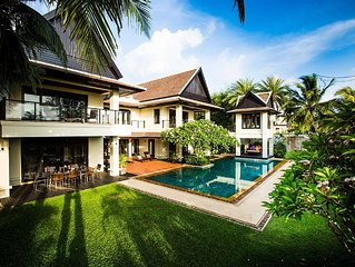 Luxury Villa Next to Layan Beach : Great For Two Families, Minibus/Chef Included
