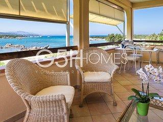 Sardegna, Porto Rotondo, appartamento sulla spiaggia, vista meravigliosa