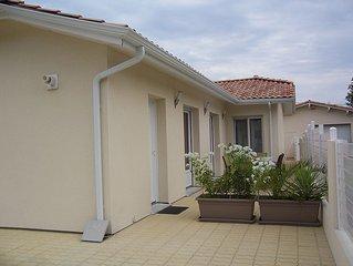 Maison récente de 93 m² pour 6 personnes , quartier calme