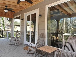ADORABLE Lakefront Cottage Completely Renovated with Private 2 Level Boat Dock